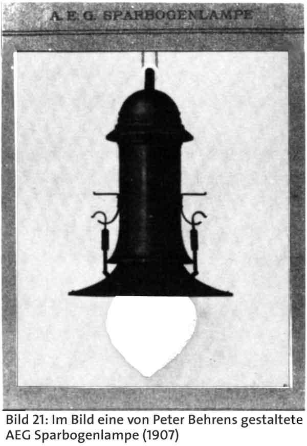 aeg lampen